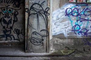 graffiti - derk - berlin, wedding - panke