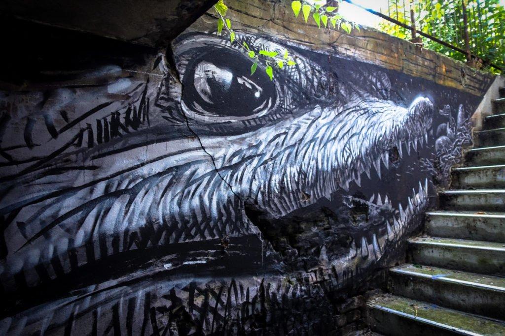 graffiti - wild drawing - berlin, wedding - panke
