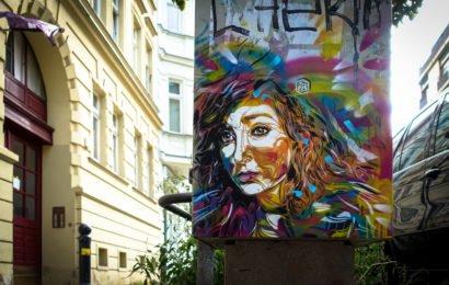 c215 stencil in berlin mitte