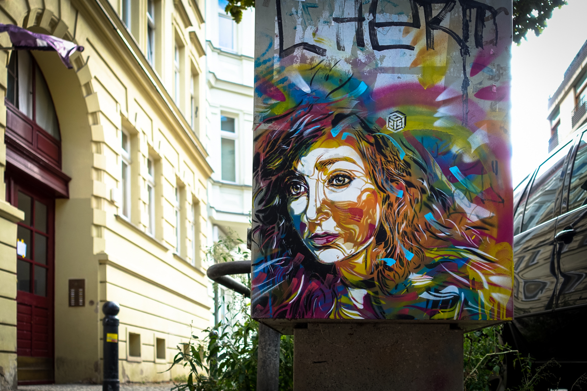 stencil – c215 – berlin, mitte