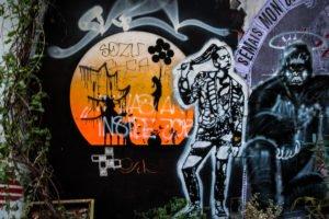 urban art - otto schade, e-schablone - haus schwarzenberg, berli
