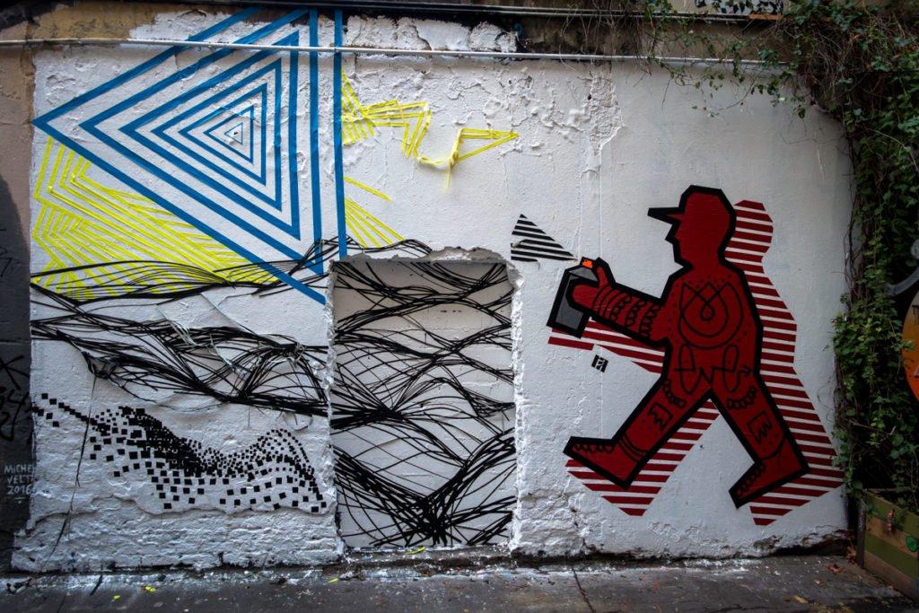 tape art - ostap - haus schwarzenberg, berlin