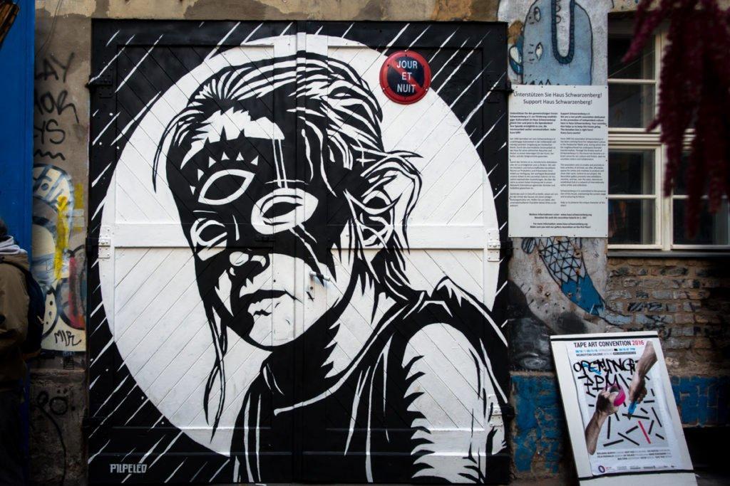 urban art - pilpeled - haus schwarzenberg, berlin