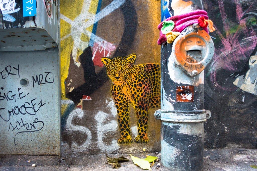 stencil - haus schwarzenberg, berlin