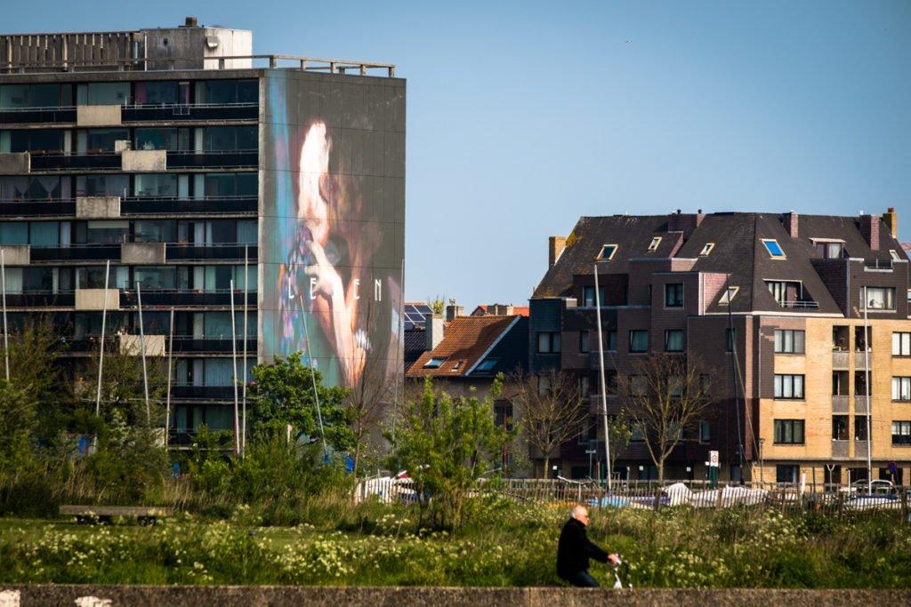mural - axel void - the crystal ship, oostende, belgium