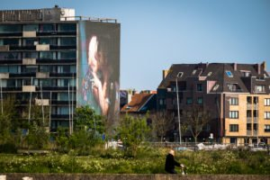 mural - axel void - the crystal ship, oostende, belgium
