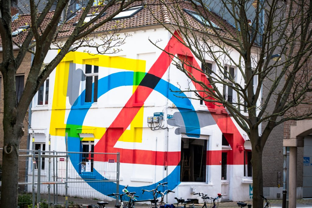 street art - elian -  the crystal ship, oostende, belgium