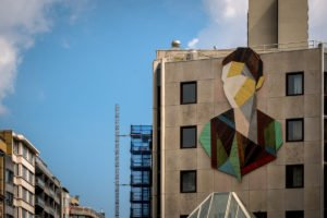 street art - strook -  the crystal ship, oostende, belgium