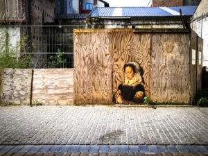 paste up - outings project - the crystal ship, oostende, belgium
