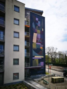 mural - nelio - the crystal ship, oostende, belgium