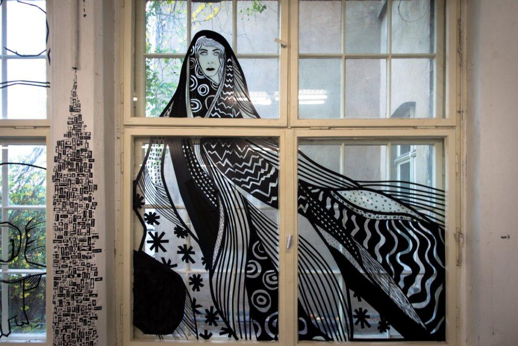 benjamin murphy - tape art convention 2016 - haus schwarzenberg,