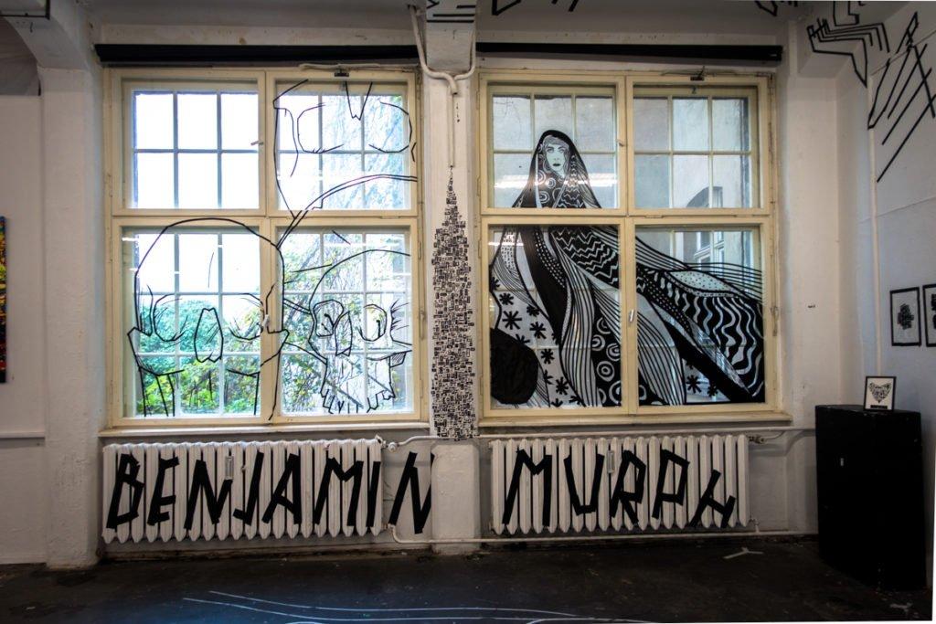 benjamin murph - tape art convention 2016 - haus schwarzenberg,