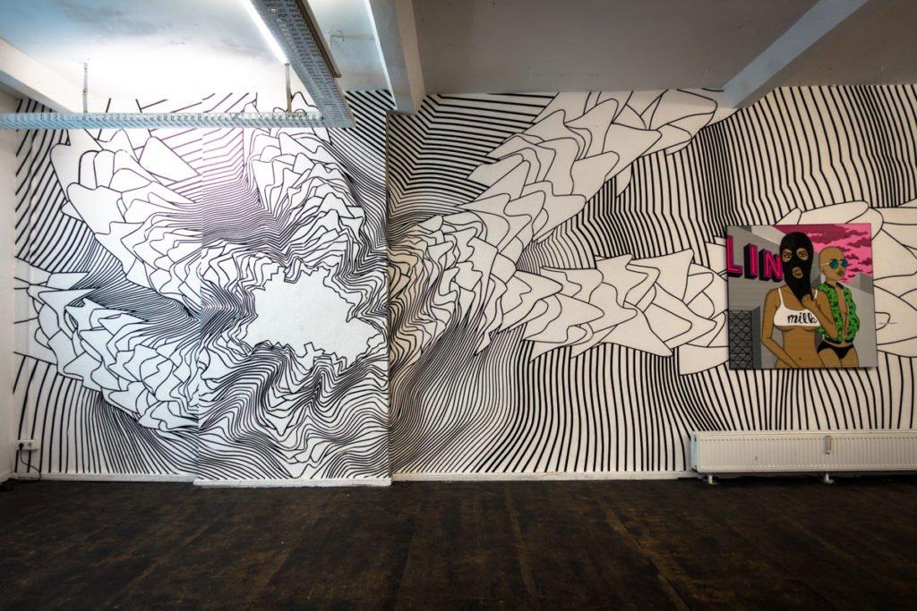 buff diss & tape that - tape art convention 2016 - haus schwarze