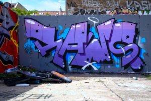 graffiti - raws - platoon, berlin mitte