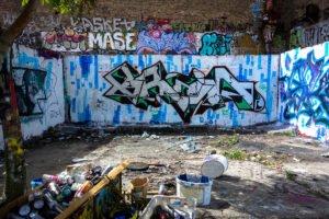 graffiti - brain - platoon, berlin mitte