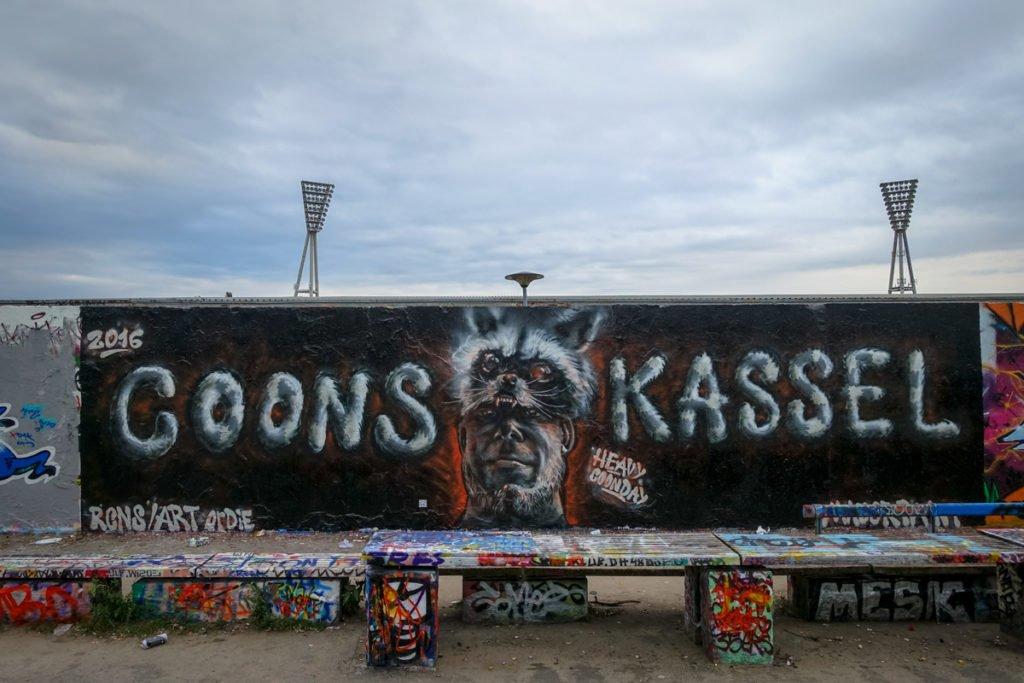 graffiti - racoons - berlin, mauerpark