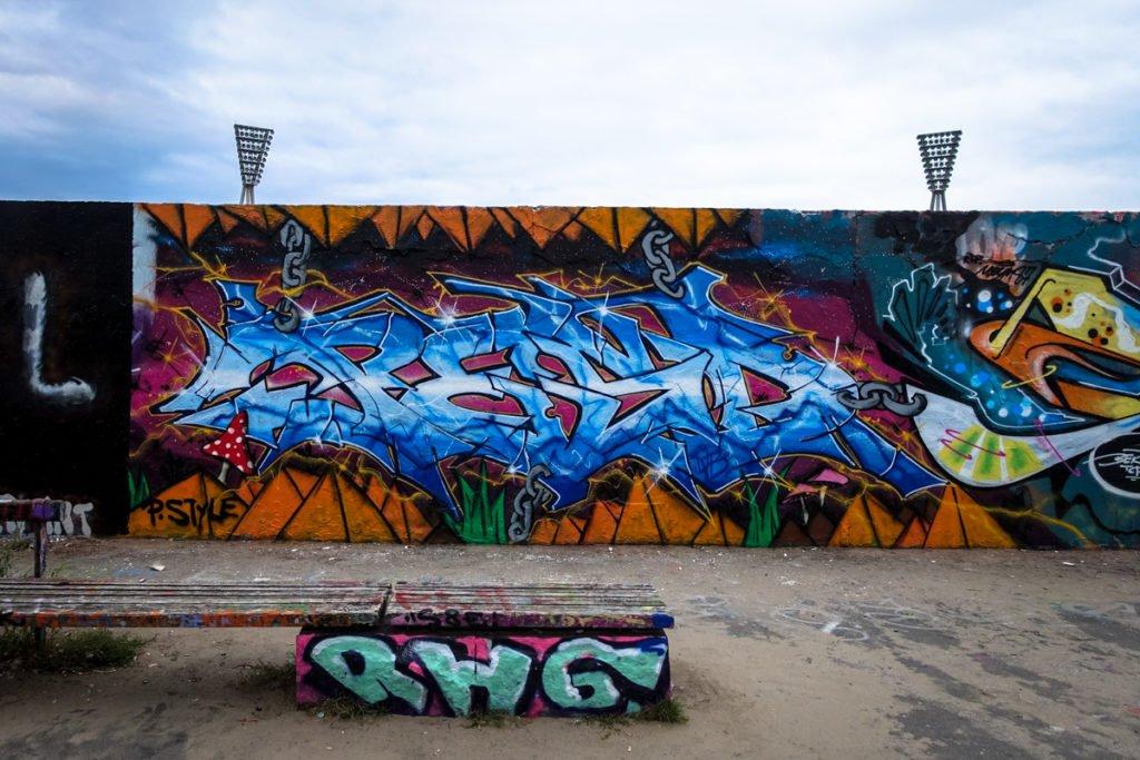 graffiti - pesd - berlin, mauerpark