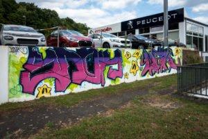 graffiti - snok & mrk  - völklingen