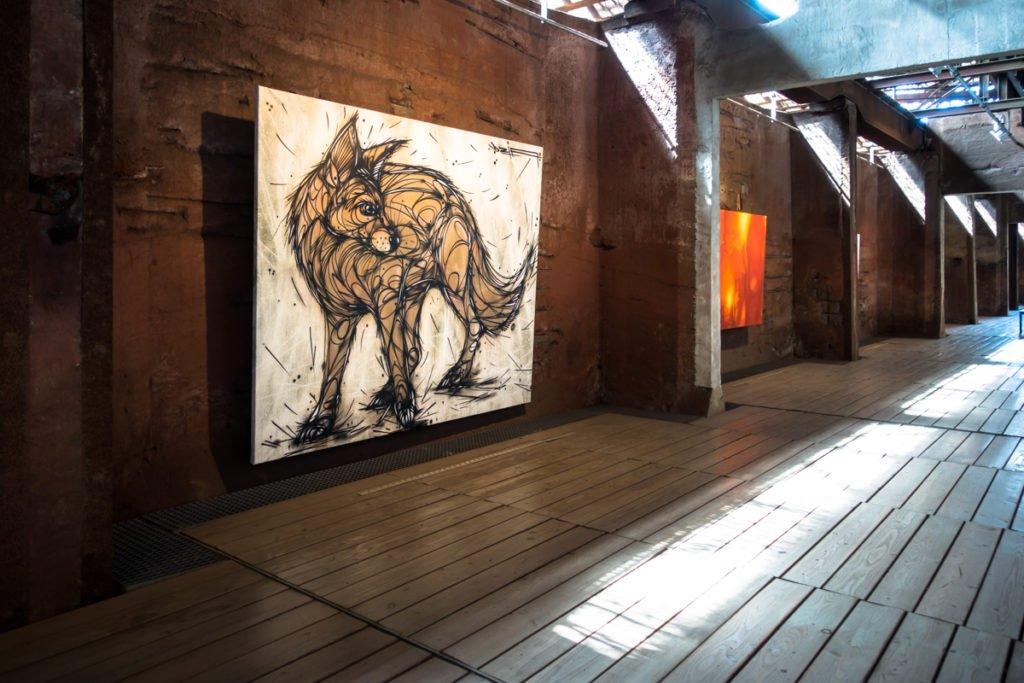 dzia 'gold fox' – 4. urbanart biennale – völklingen