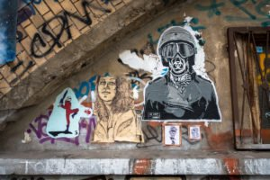 paste up - le loup, dr cream - dircksenstrasse, berlin