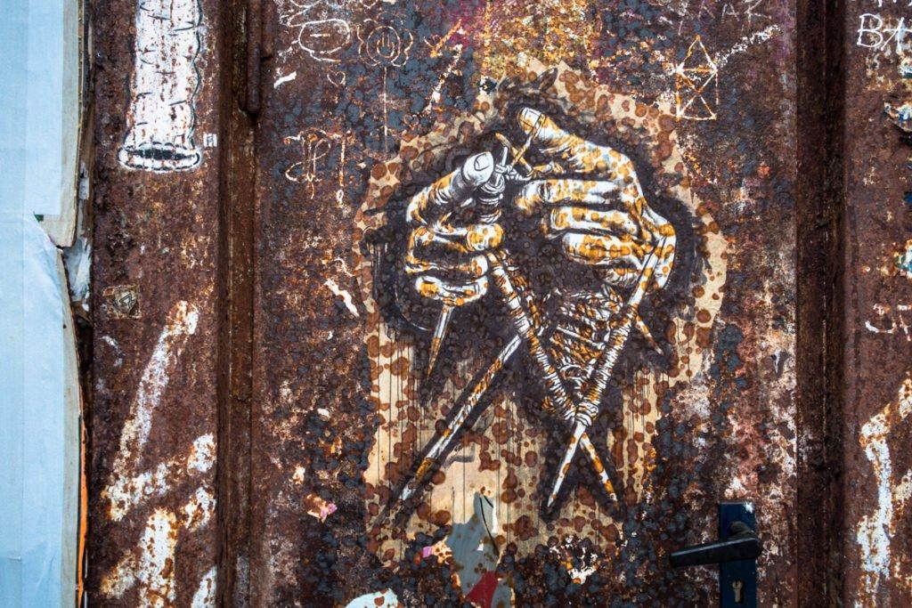 urban art - dircksenstrasse, berlin