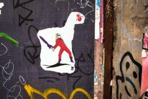 paste up - dr cream - dircksenstrasse, berlin