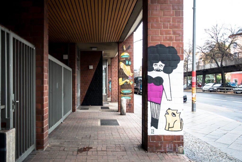 urban art – kram & roix –  bülowstrasse urban nation