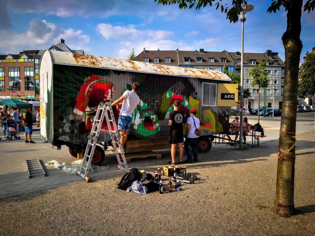 graffiti – kamper acker, düsseldorf