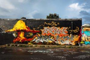 graffiti - heliosplatz, köln