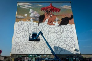 mural, cityleaks 2017 – AEC interesni kazki – köln, ehrenfe