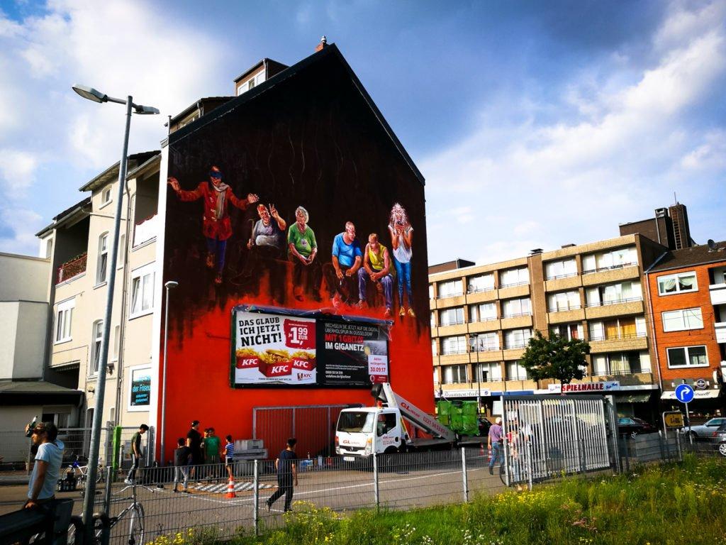 mural - charles bhebe - 40grad festival, düsseldorf