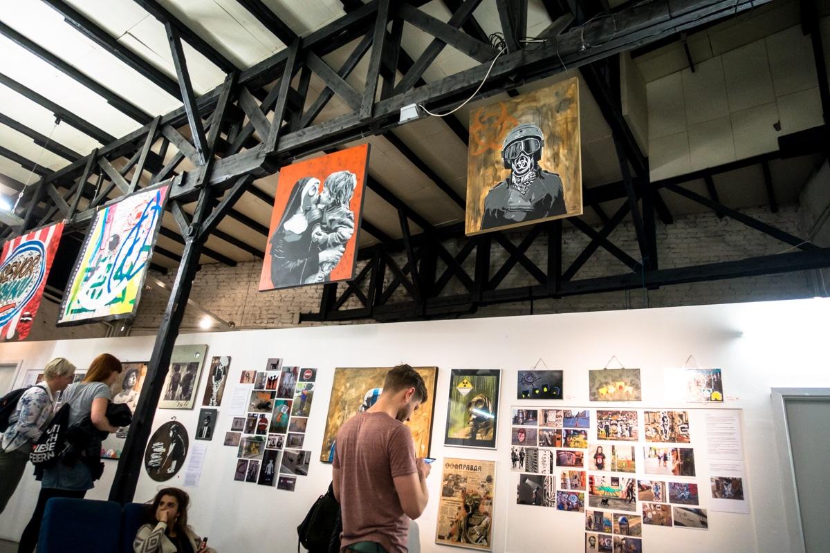 strassengold exhibition - köln