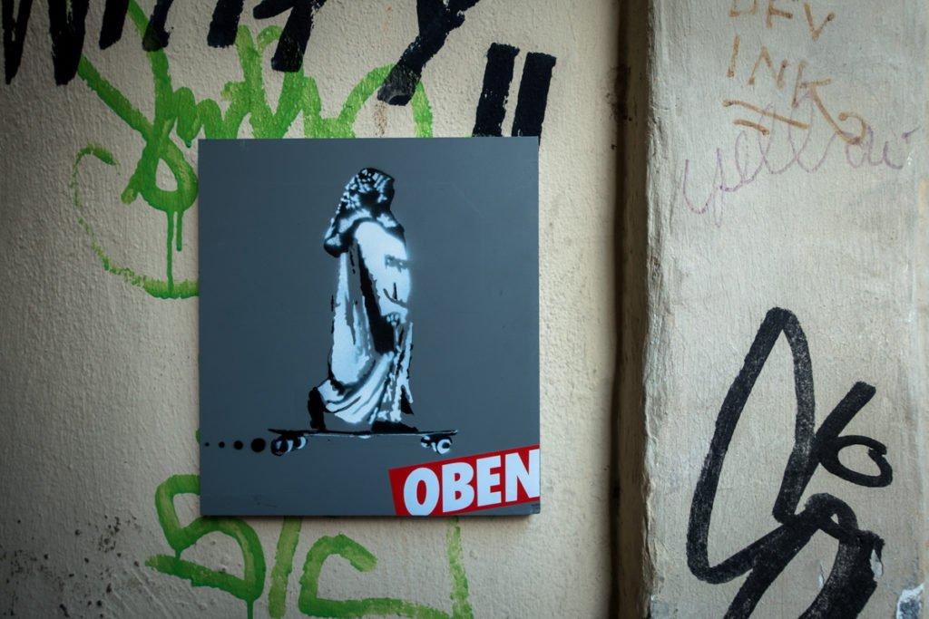 street art – oben – köln, ehrenfeld