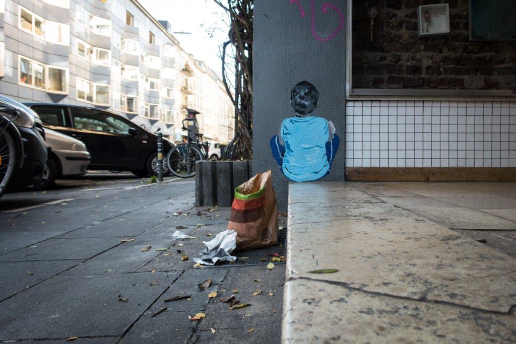paste up – lieb sein – köln, belgisches viertel