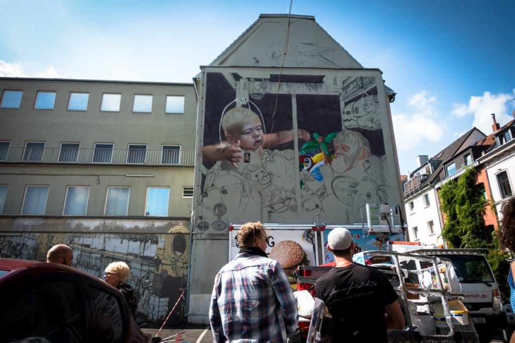 mural, cityleaks 2017 – innerfields – köln, nippes