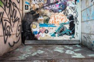 paste up - tuk - heliosstrasse, köln