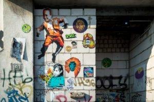 streetart - heliosstrasse, köln
