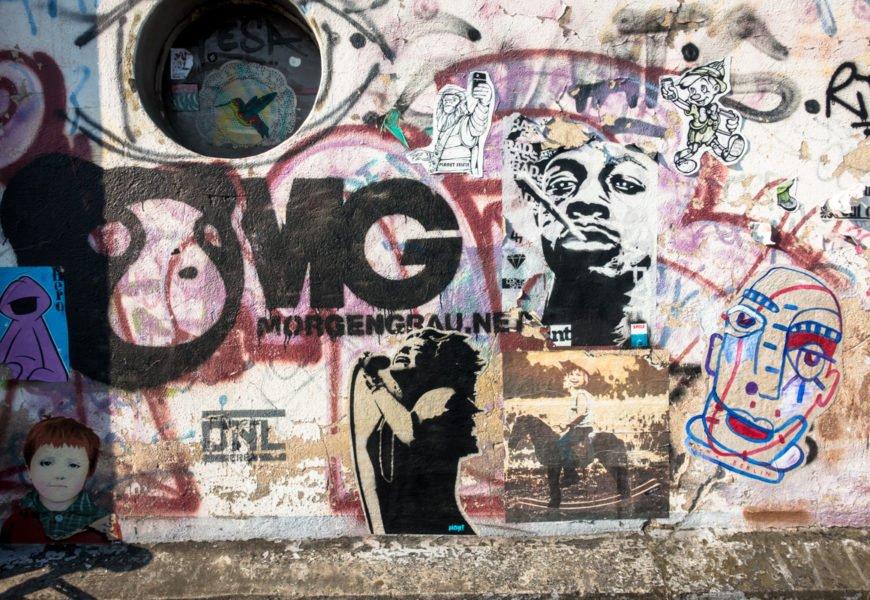 streetart um den heliosplatz, köln