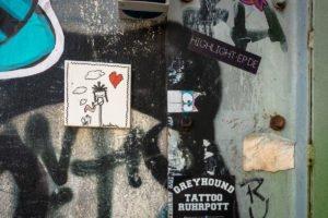 streetart - sweetsnini - heliosstrasse, köln