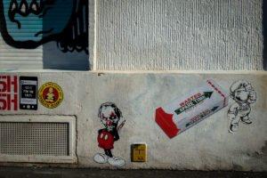 paste up - rising f art - heliosstrasse, köln