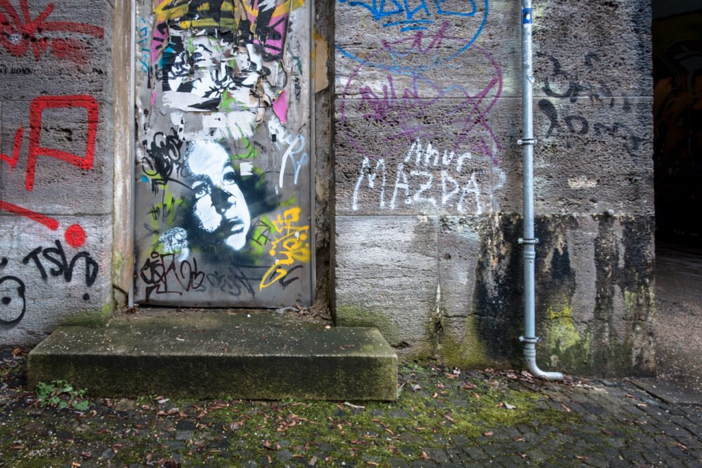 stencil –  isar, münchen