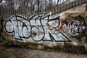 graffiti –  isar, münchen