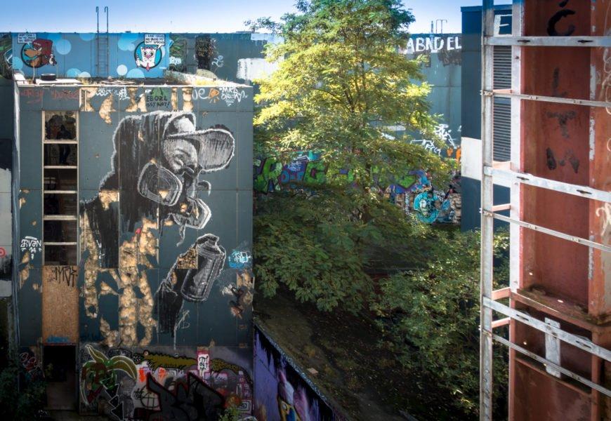 "streetart & graffiti festival ""stilbruch"" – teufelsberg, berlin"