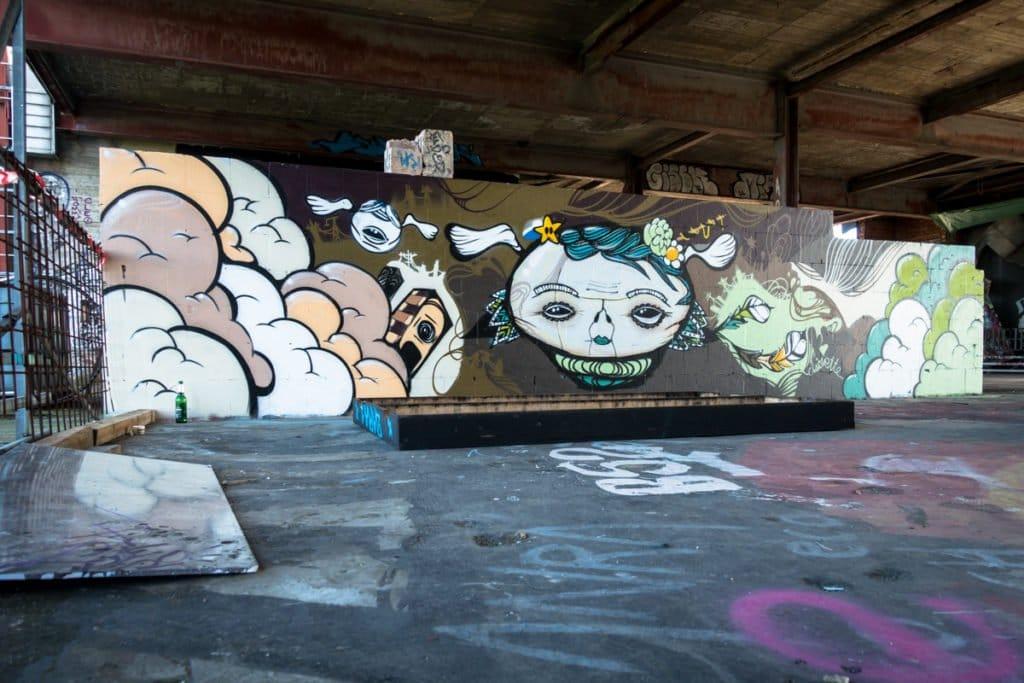 street art – teufelsberg, berlin