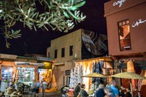 mural -  lucy mclauchlan - place des epices, marrakesh