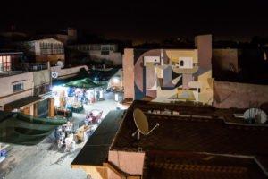 mural - alexey luka - place des epices, marrakesh