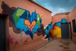 graffiti - bio / tats cru - school near jardin rouge