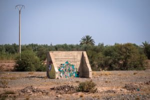 ceet, reso - on the road to jardin rouge, marrakesh