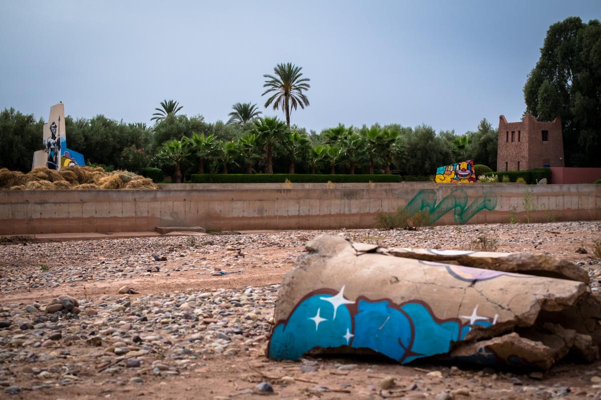 kouka, krito & benjamin laading - jardin rouge, marrakesh