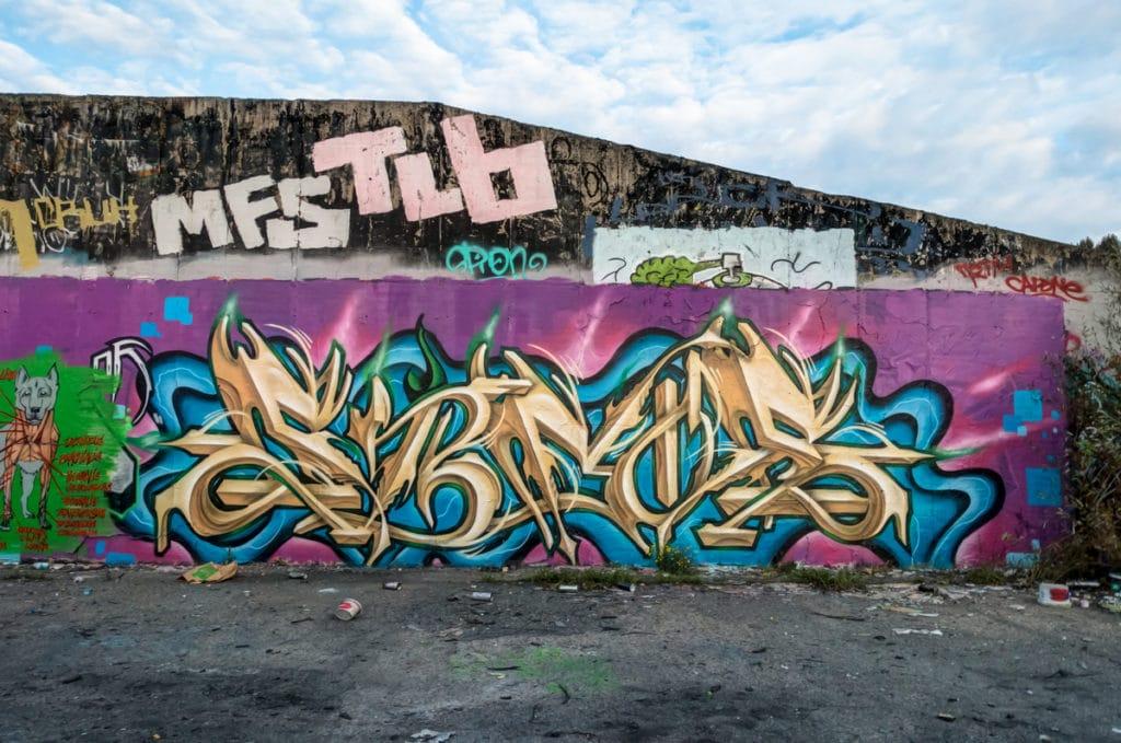 graffiti – hall of fame, blankenburg / berlin